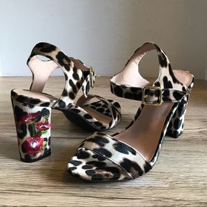 NEW 🔥 Madden Girl Bijou Leopard & Floral S…